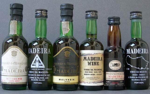 Мадера - португальское островное вино