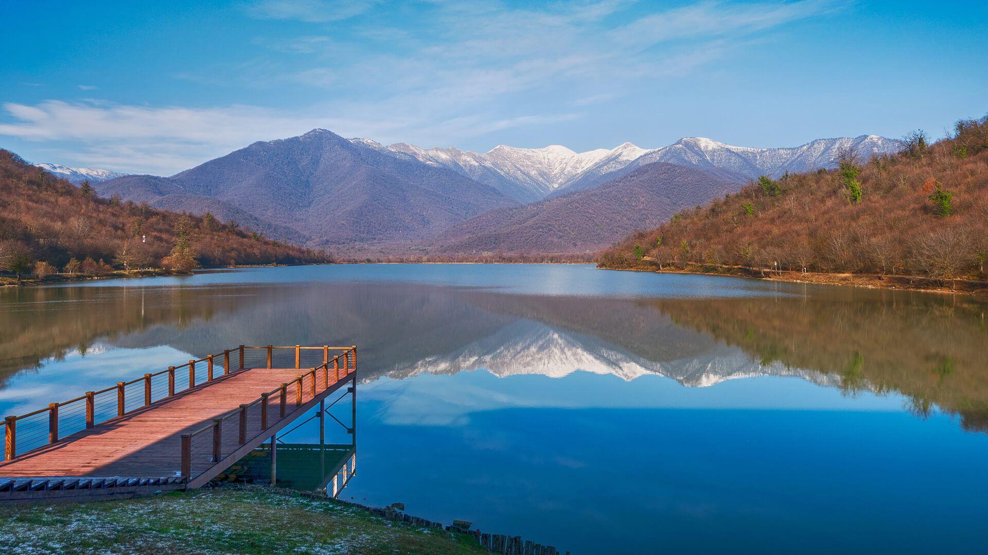 Озеро Кварели, Грузия