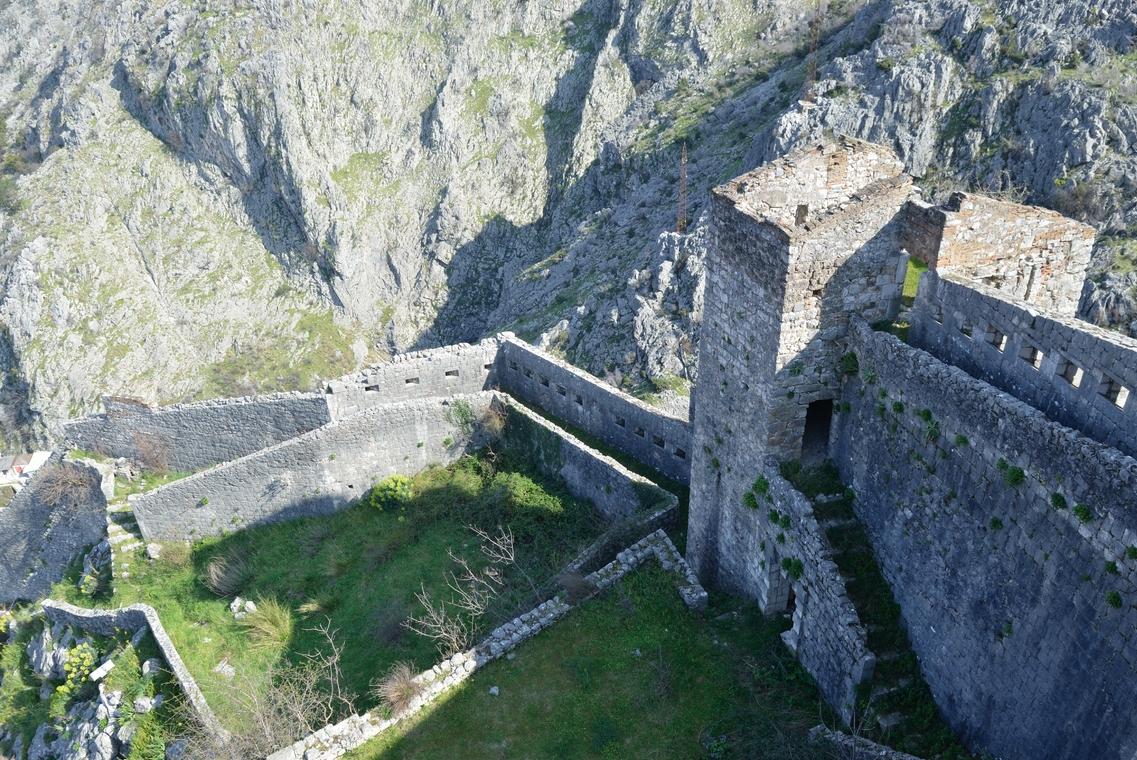 Фото: вид на крепость с высшей ее точки