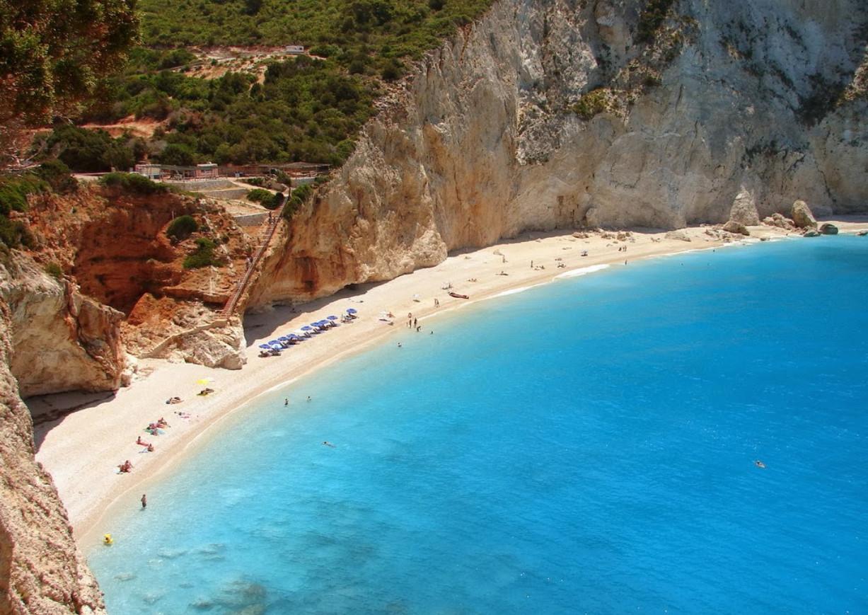 Курорт Лефкада в Греции