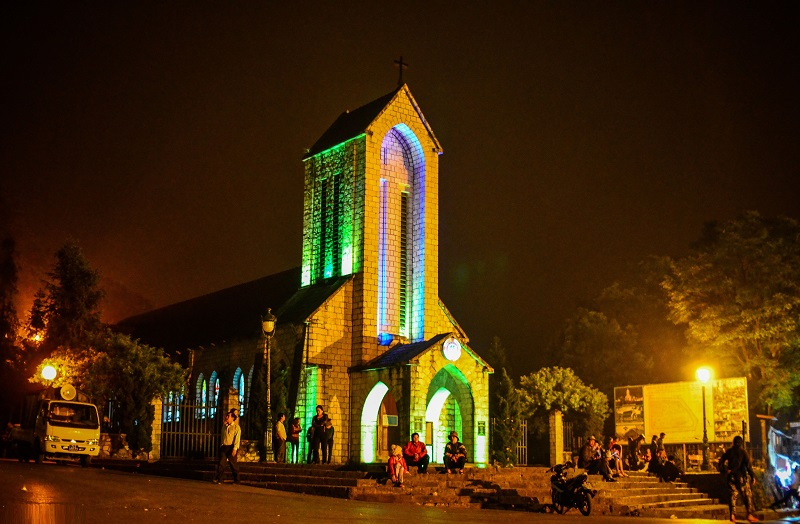Католическая церковь в центре города