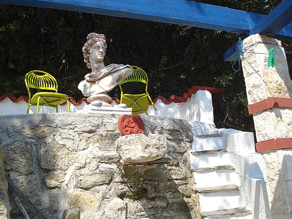 Архитектурные решения в домах Греции