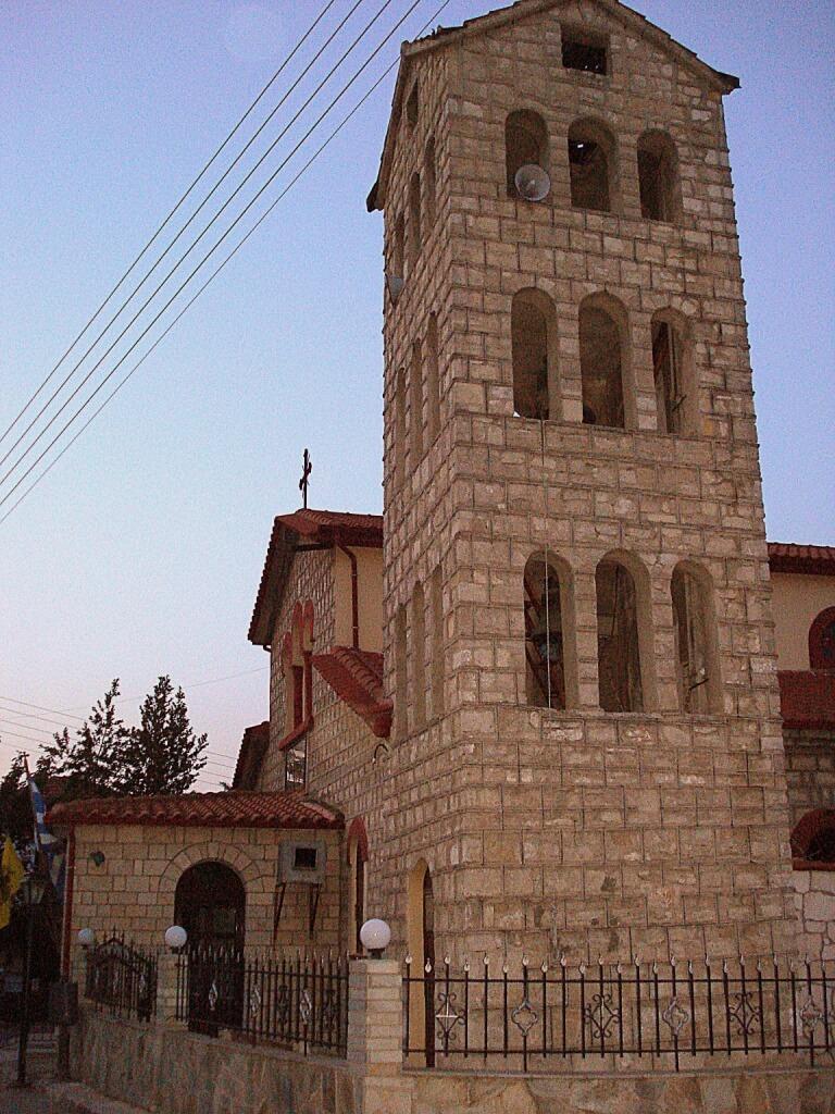Колокольня церкви в Криопиги
