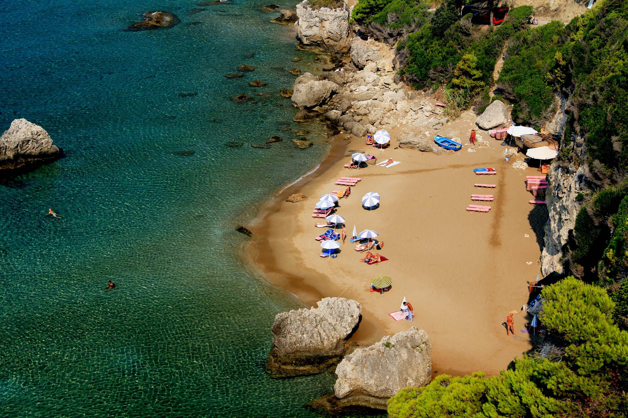 Пляж Mirtiotissa