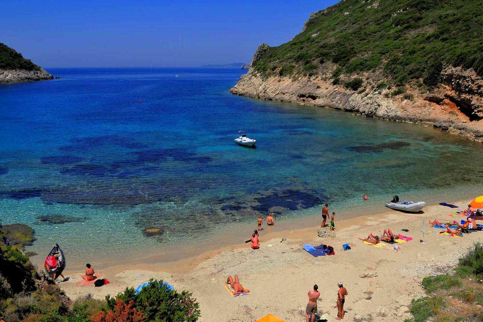 Пляж Porto Timoni