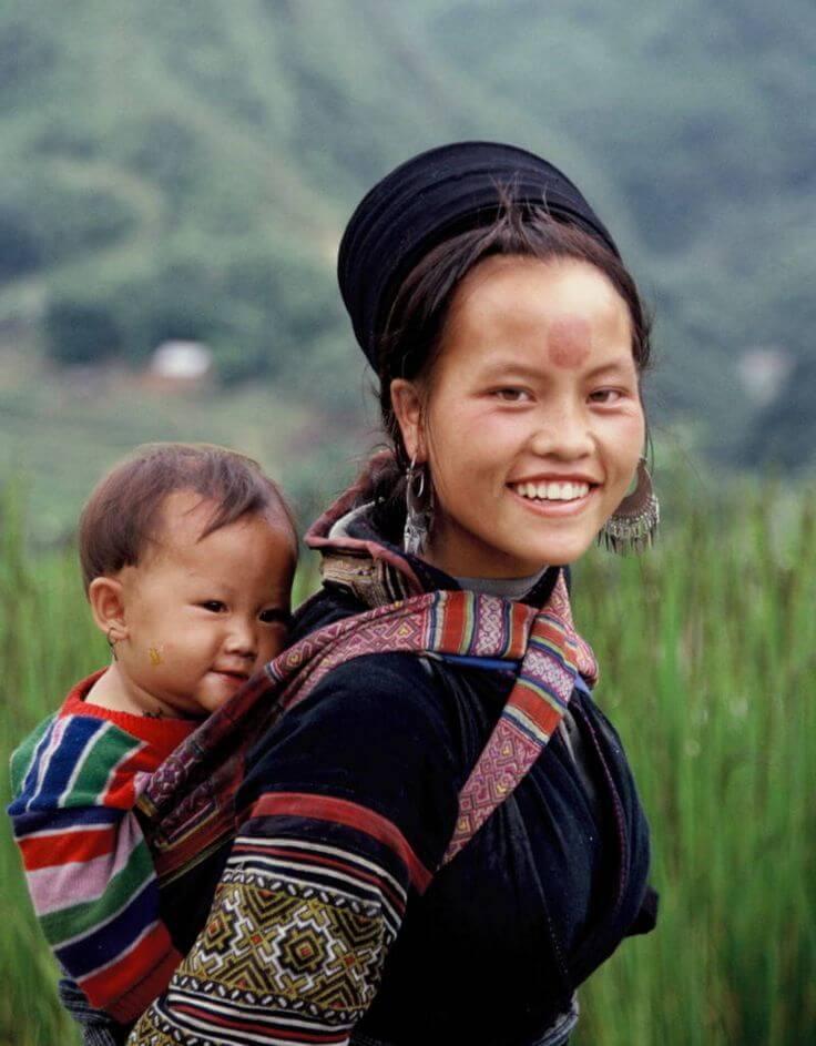 Фото: черные хмонги