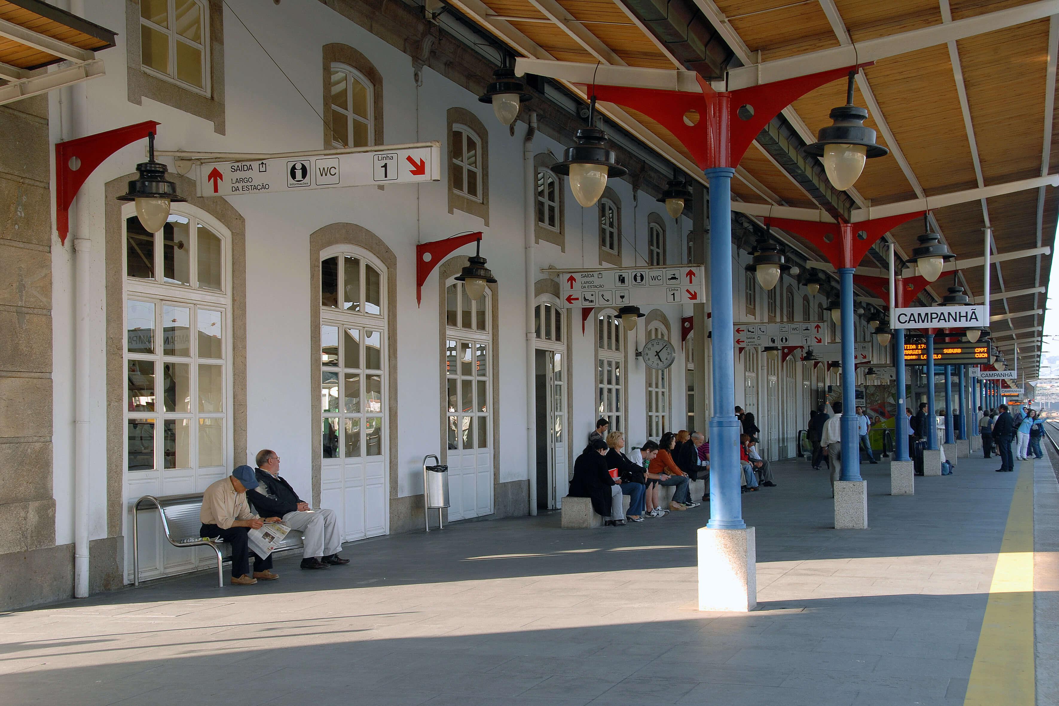Фото: Campanha Railway station