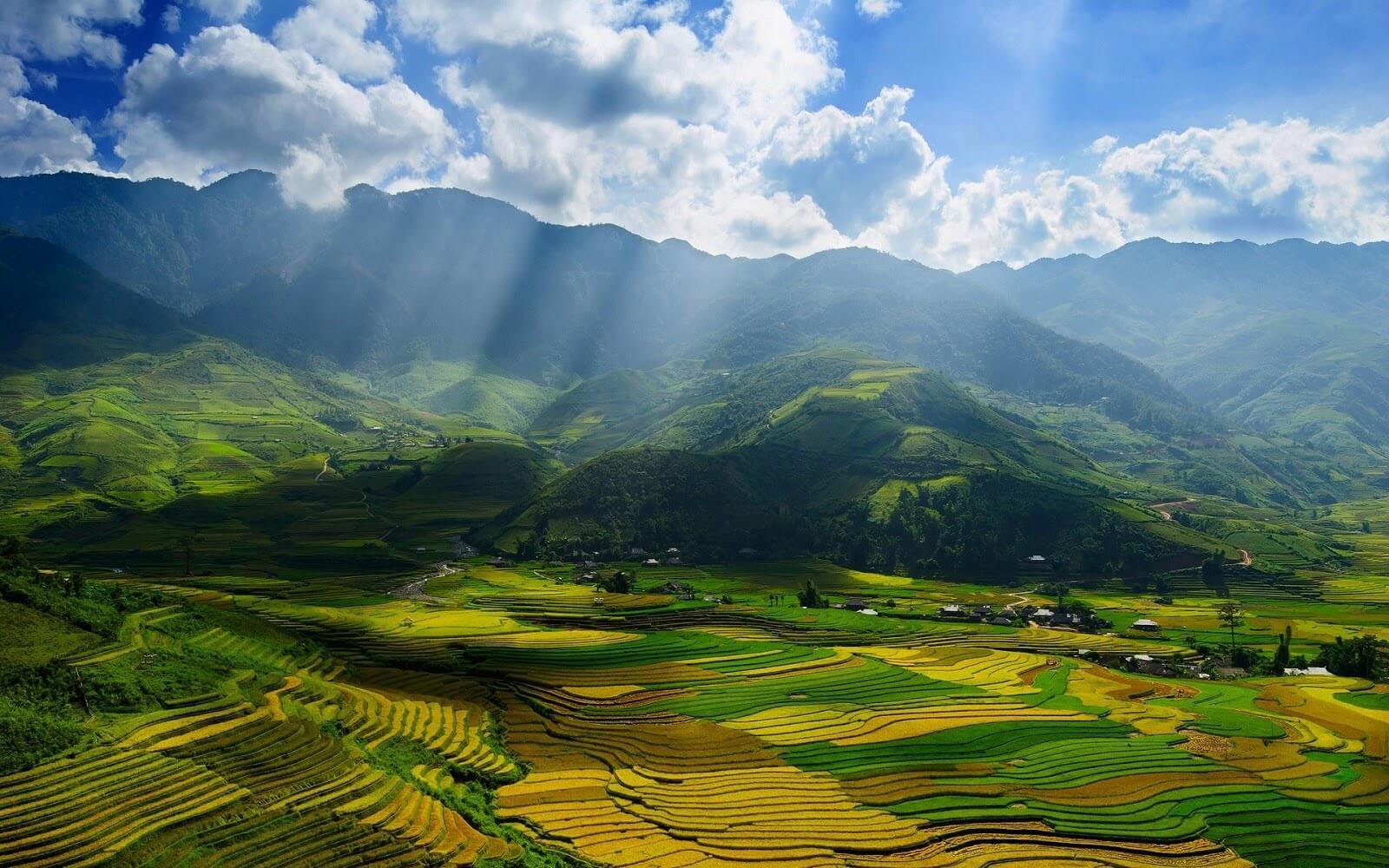 Вид на пути перевал Хам Ронг