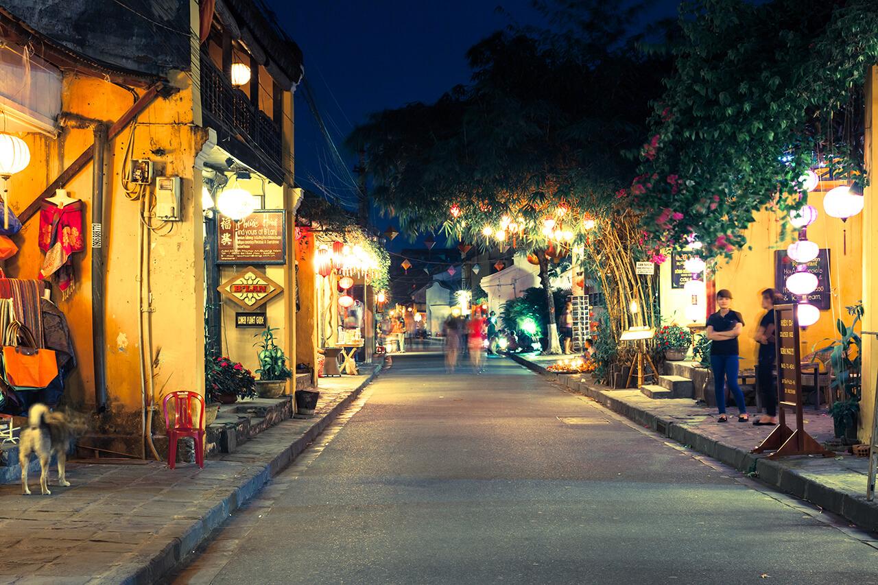Пешеходная улица в Старом городе Хюэ