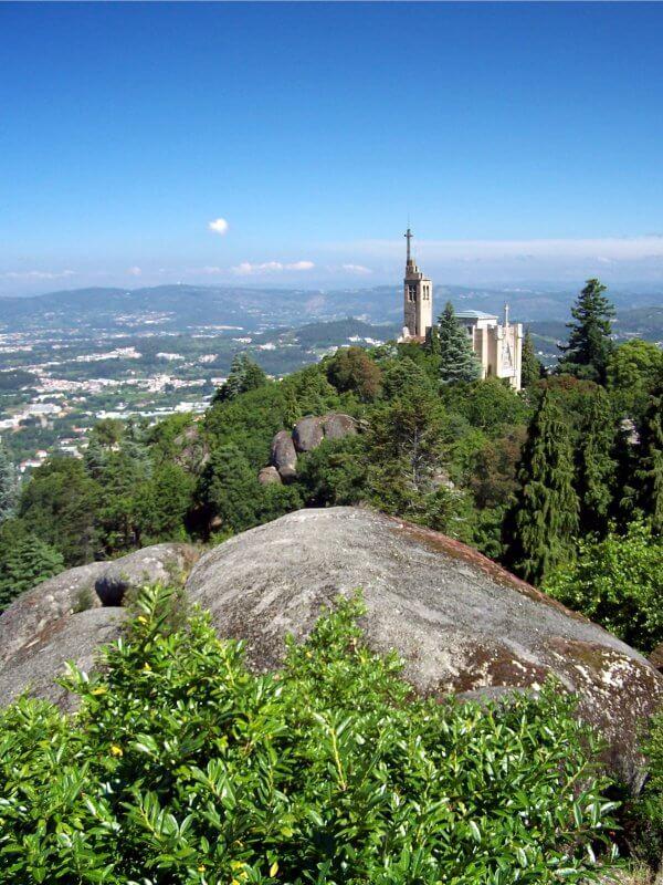 Вид с высшей точки парка