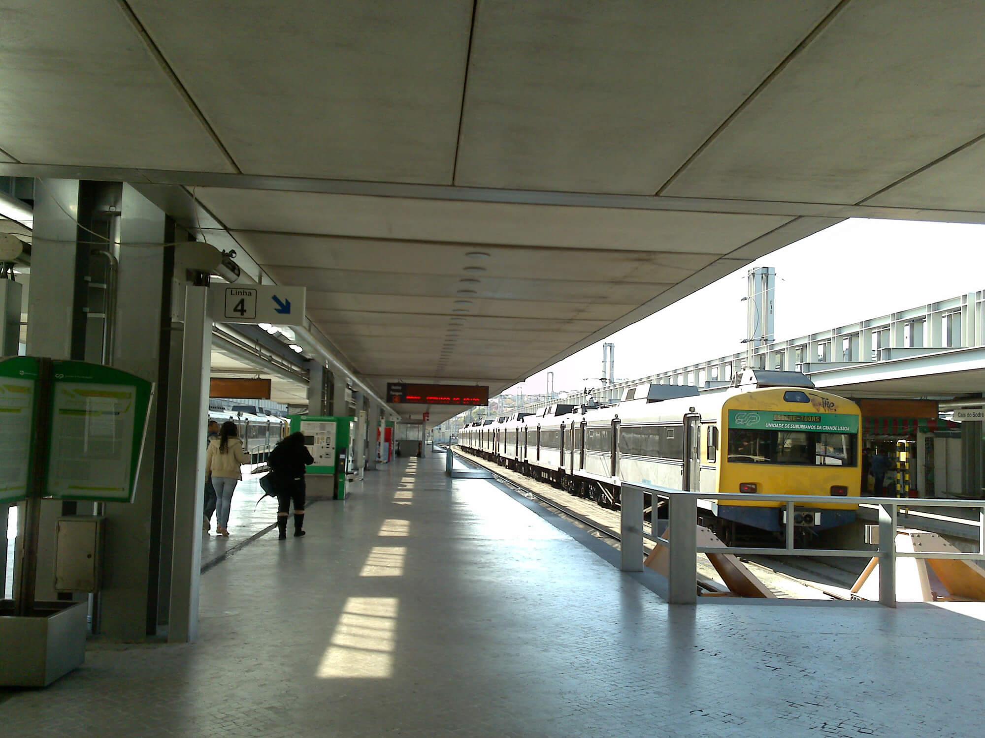 Станции Cais de Sodre