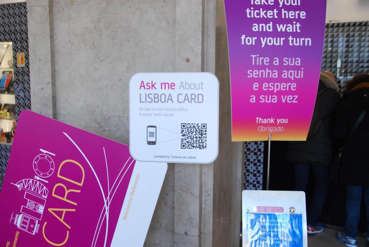 Продажа карт Ask me Lisboa