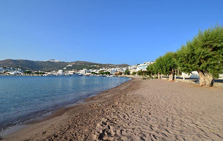 Пляж Агиос Теологос