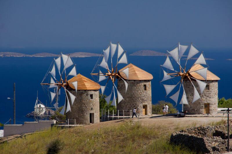 Ветряные мельницы Патмос