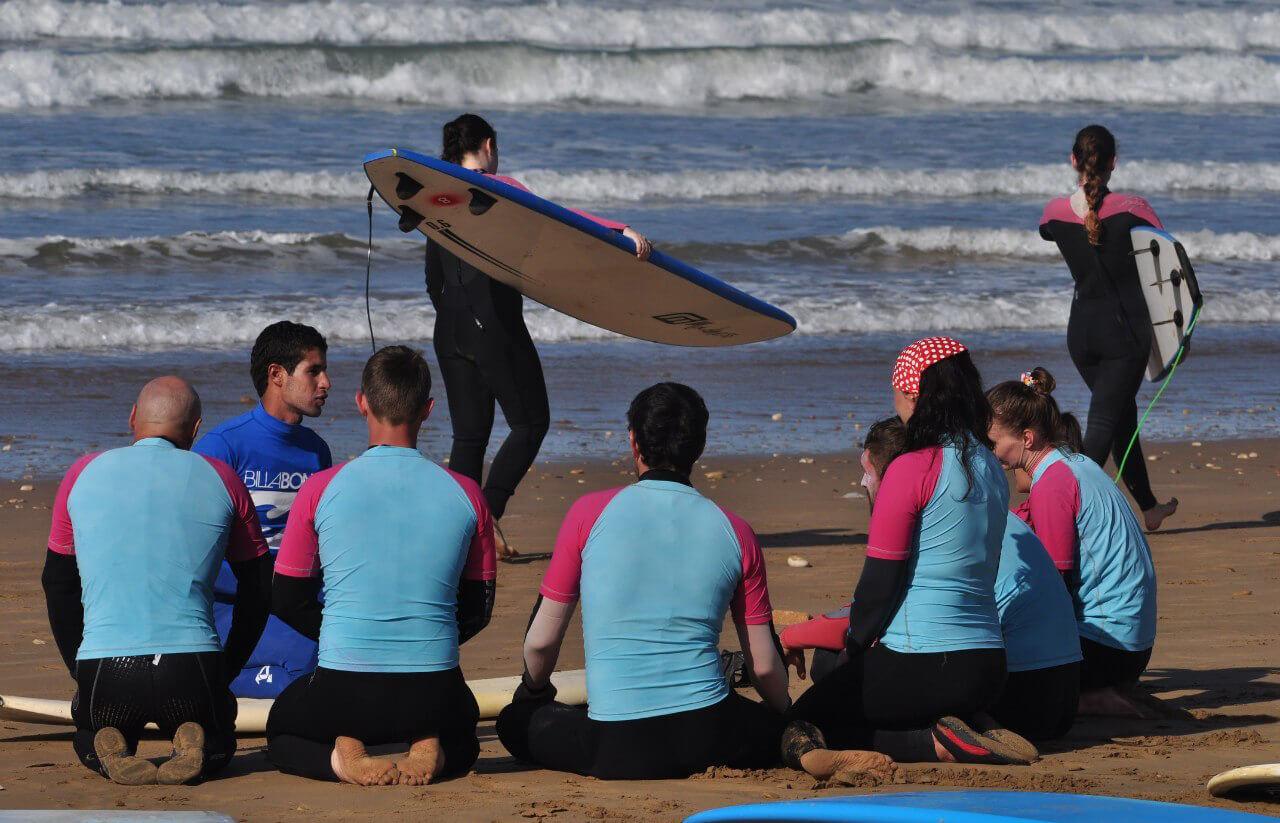Групповые уроки серфинга