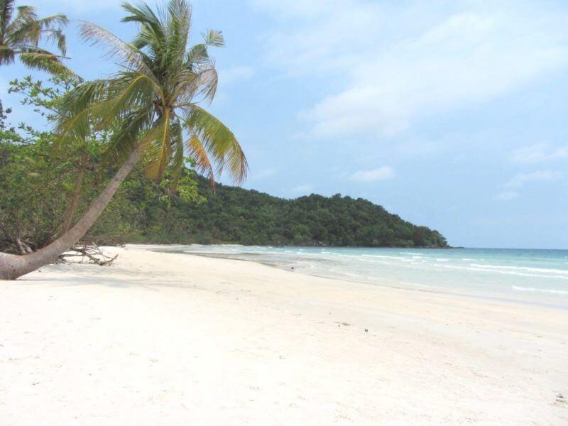 Пляж Бай Сао на острове Фукуок