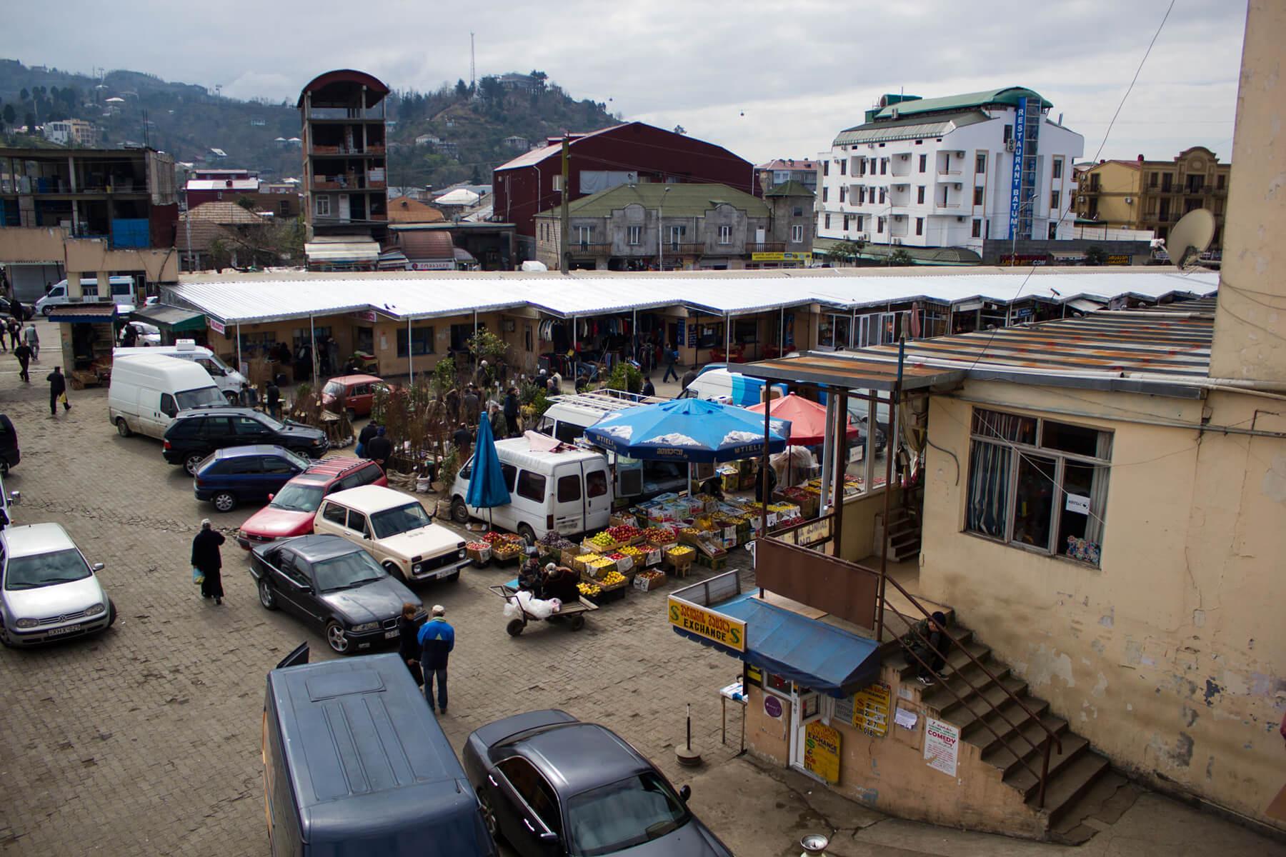 Рынок «Парехи» в Батуми