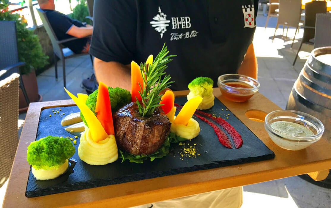 Блюдо ресторана Grajska plaža