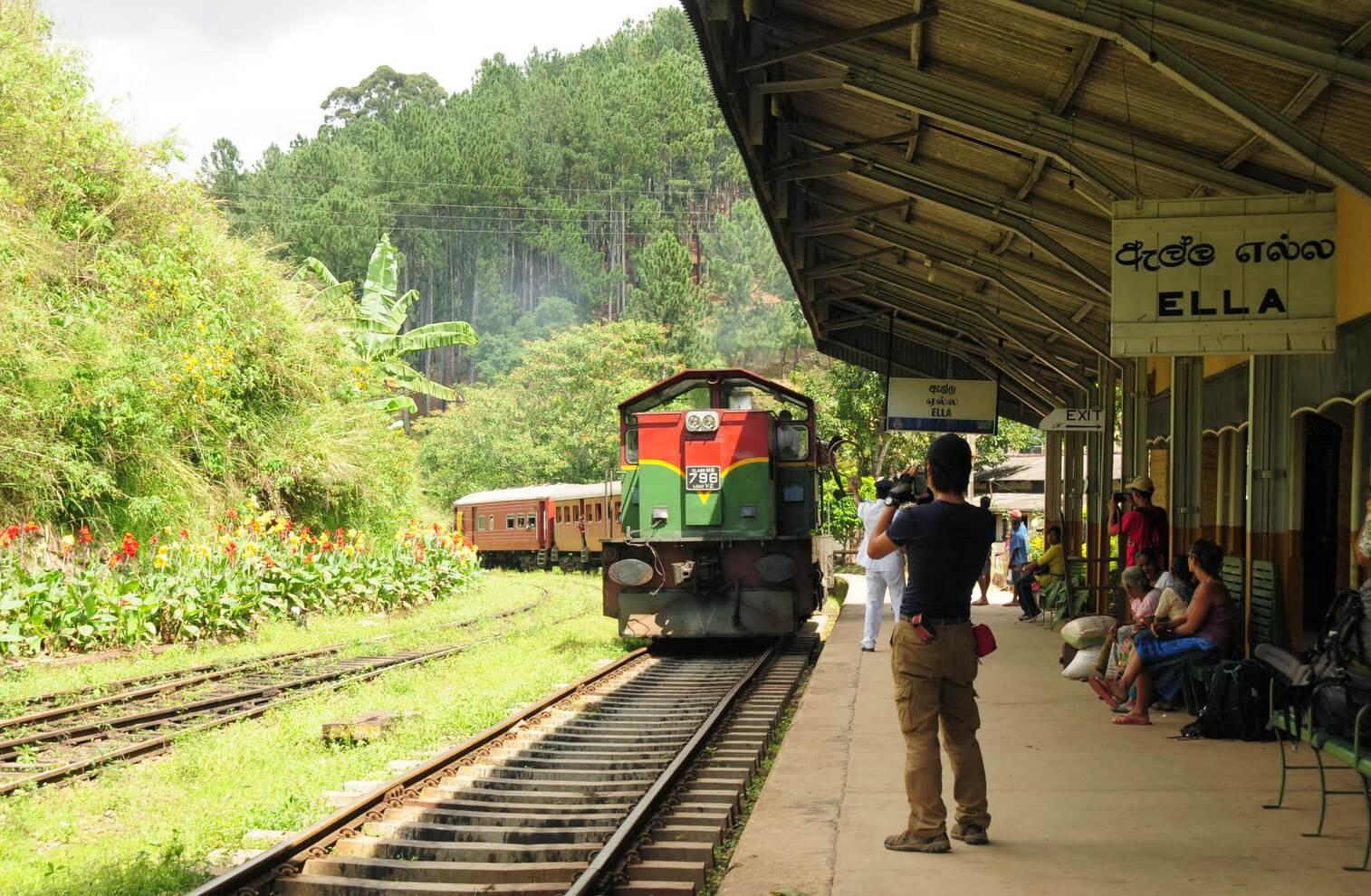 Станция Элла, Шри-Ланка