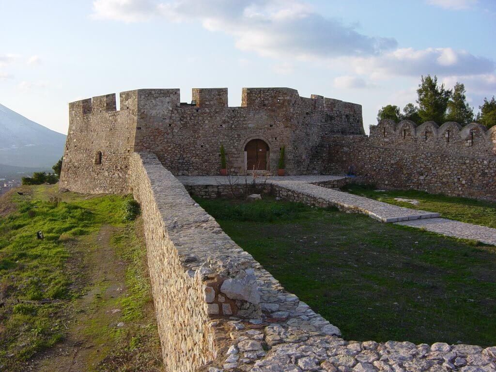 Крепость Карабаба в Халкиде