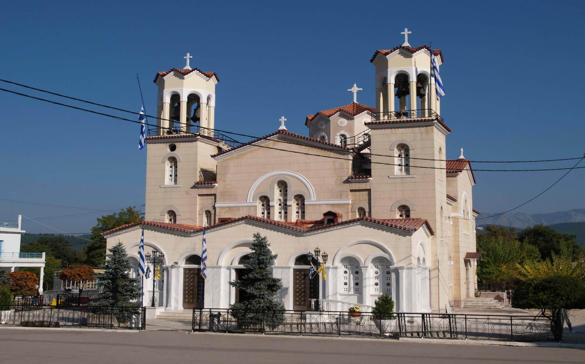 Храм Иоанна Русского на о.Эвбея