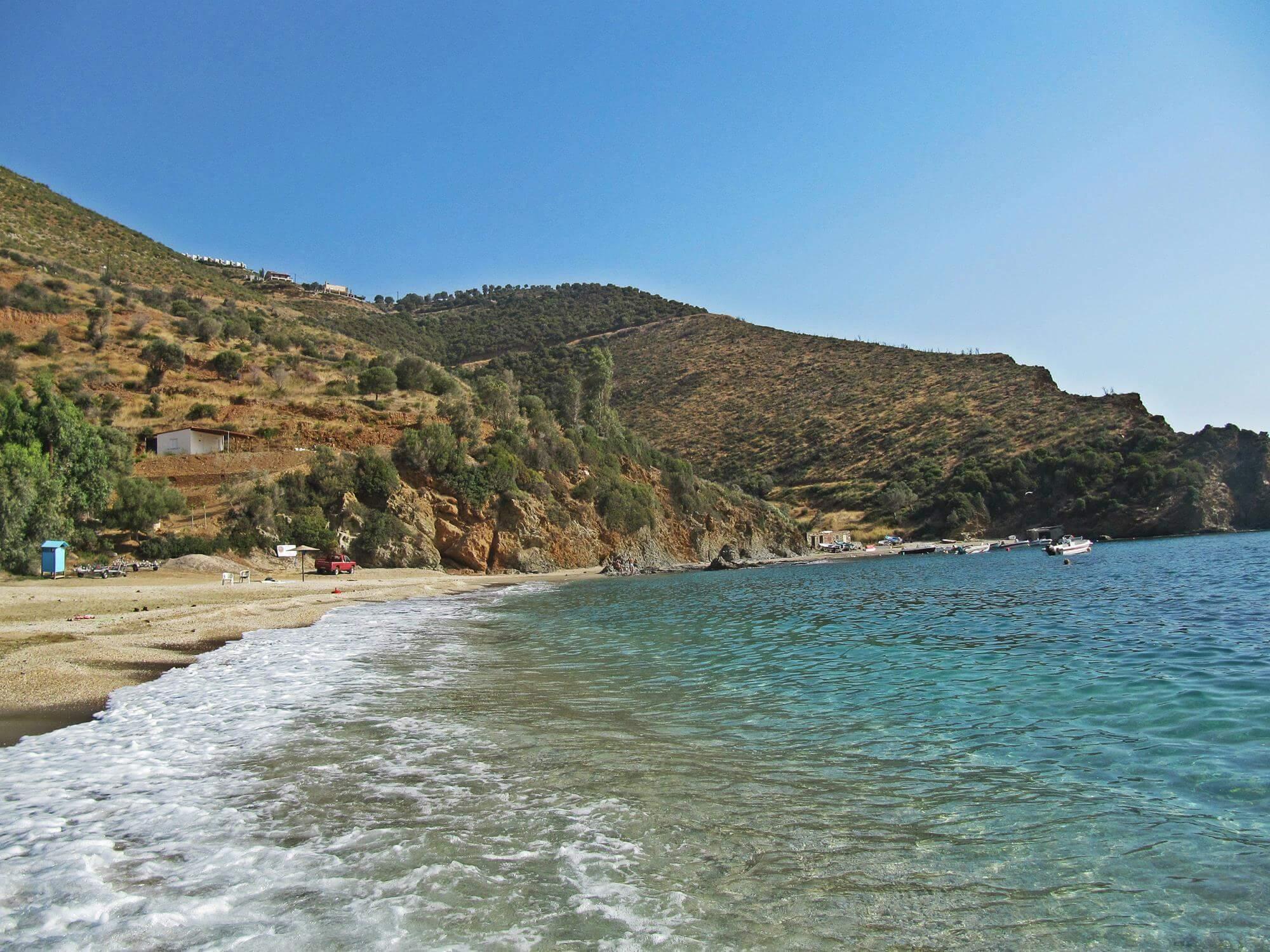 Пляж Каламос, остров Эвия