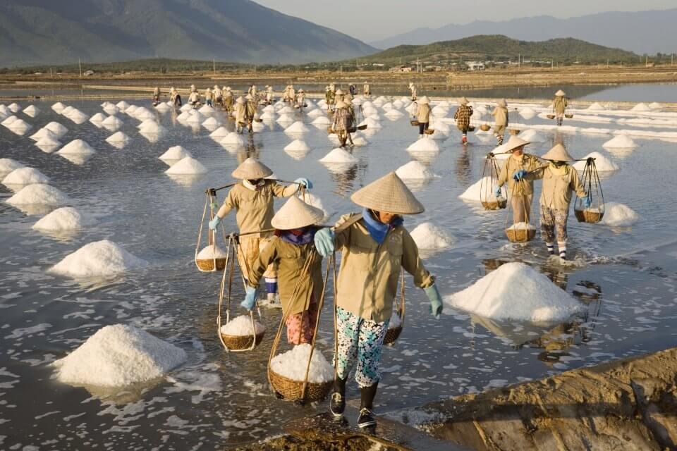 Соляные чеки в Нячанг