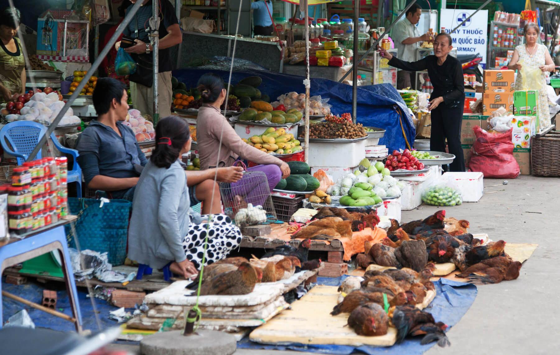Рынки Дуонг-Донга