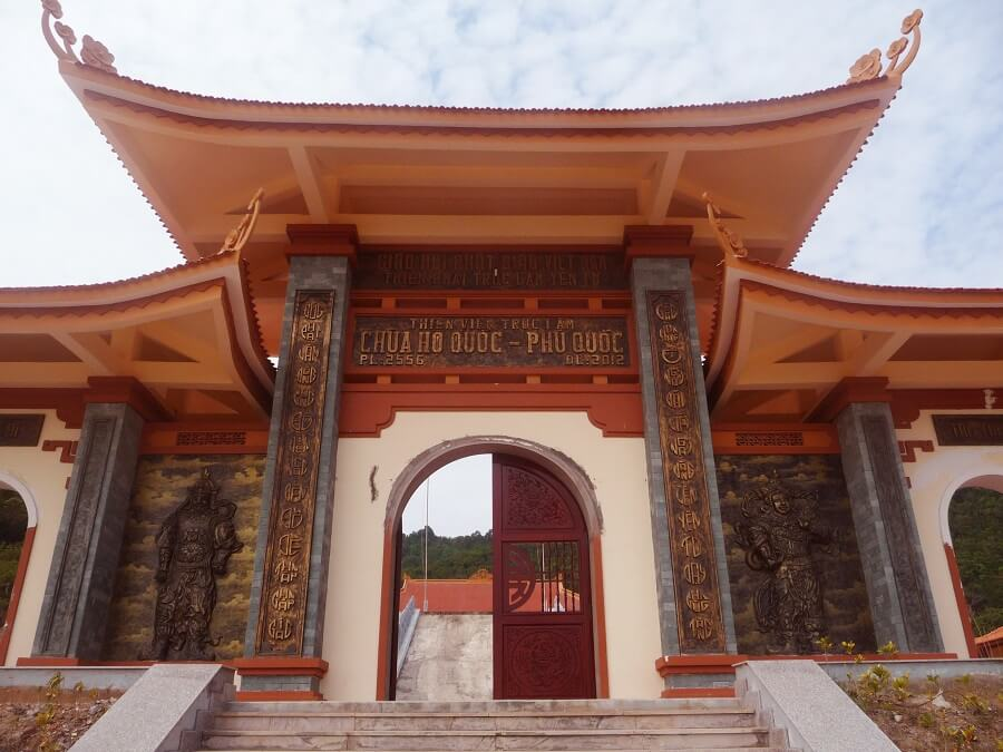Буддийский храм (Ho Quoc Temple)