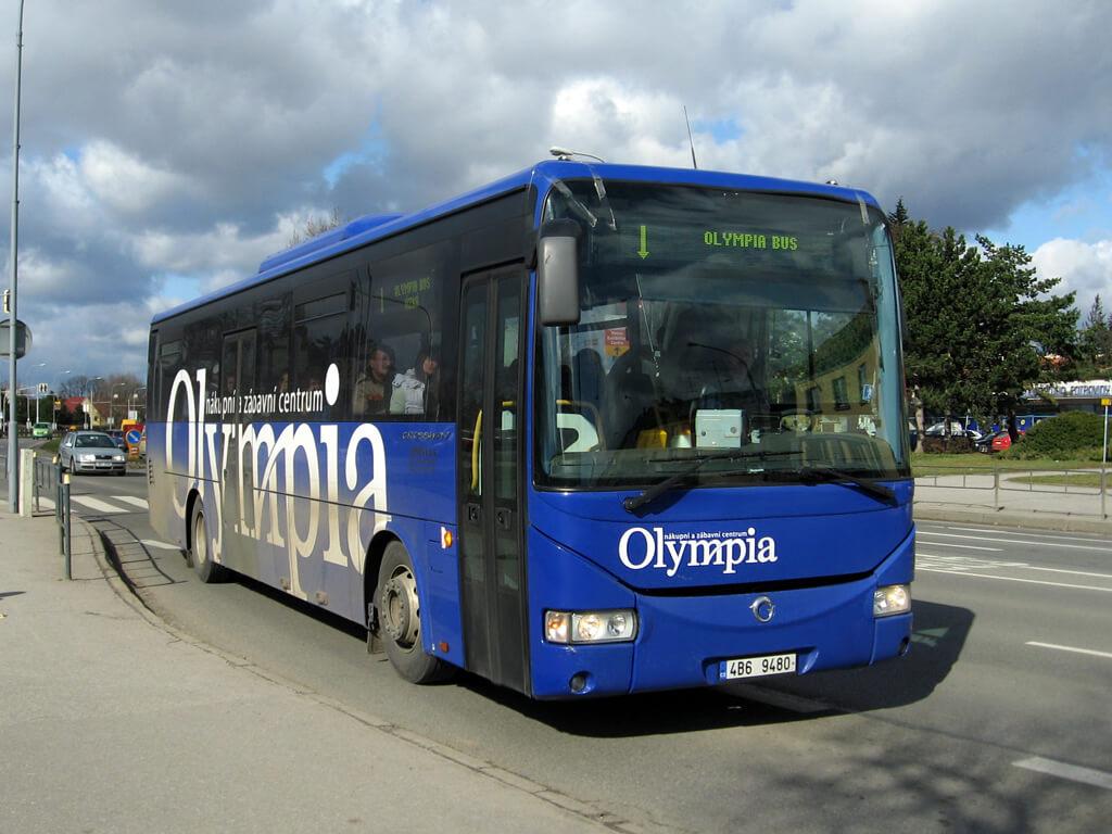 Автобус до Олимпии