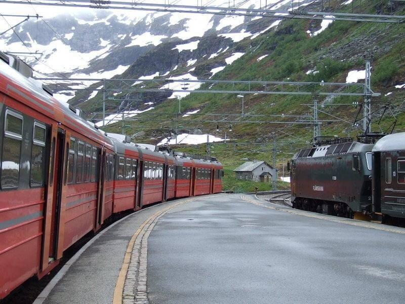 Поезд Норвегия