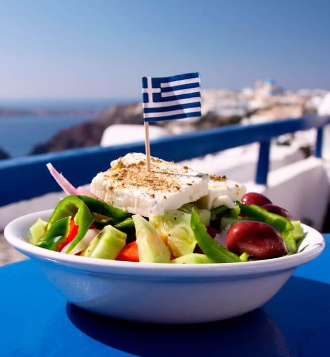 Греческое национально блюдо