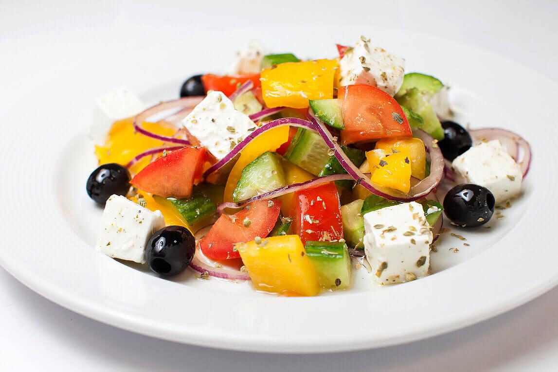 Хориатики или деревенский салат