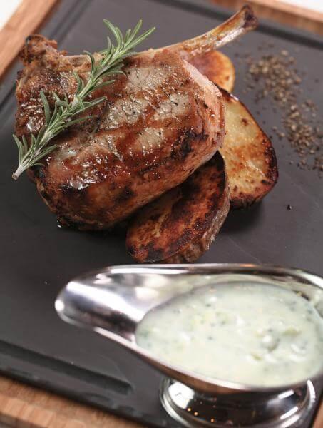 Бризолес - мясо на кости