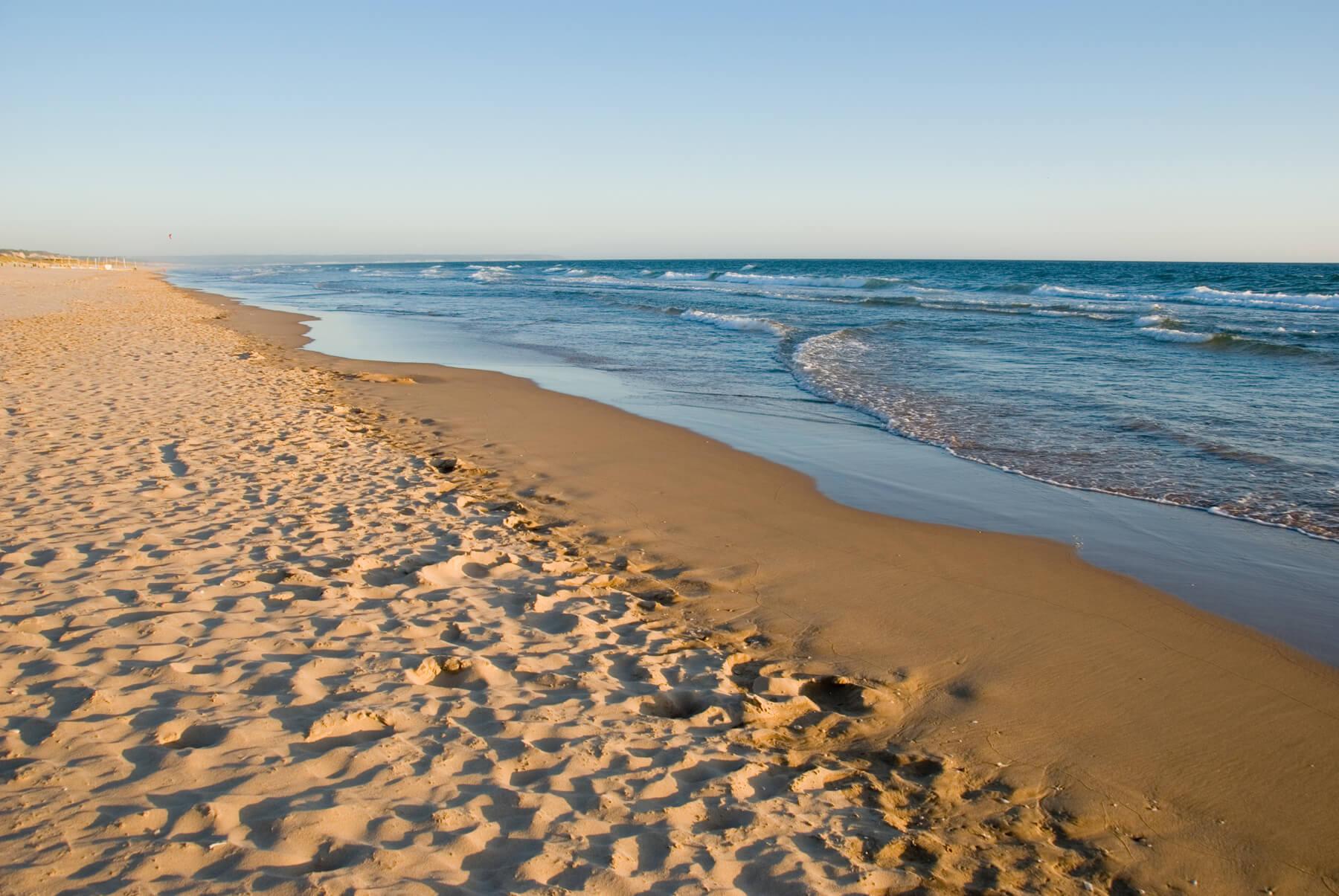 Пляж в Кошта-да-Капарика