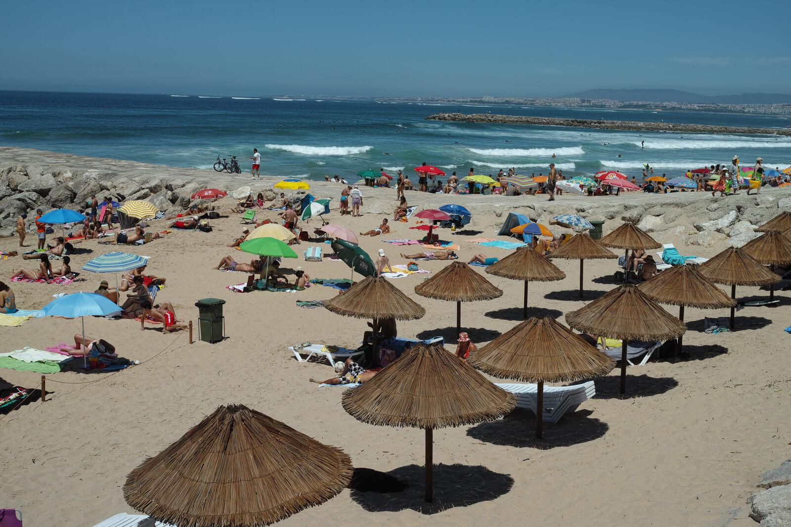 Кошта-да-Капарика на западном побережье Португалии