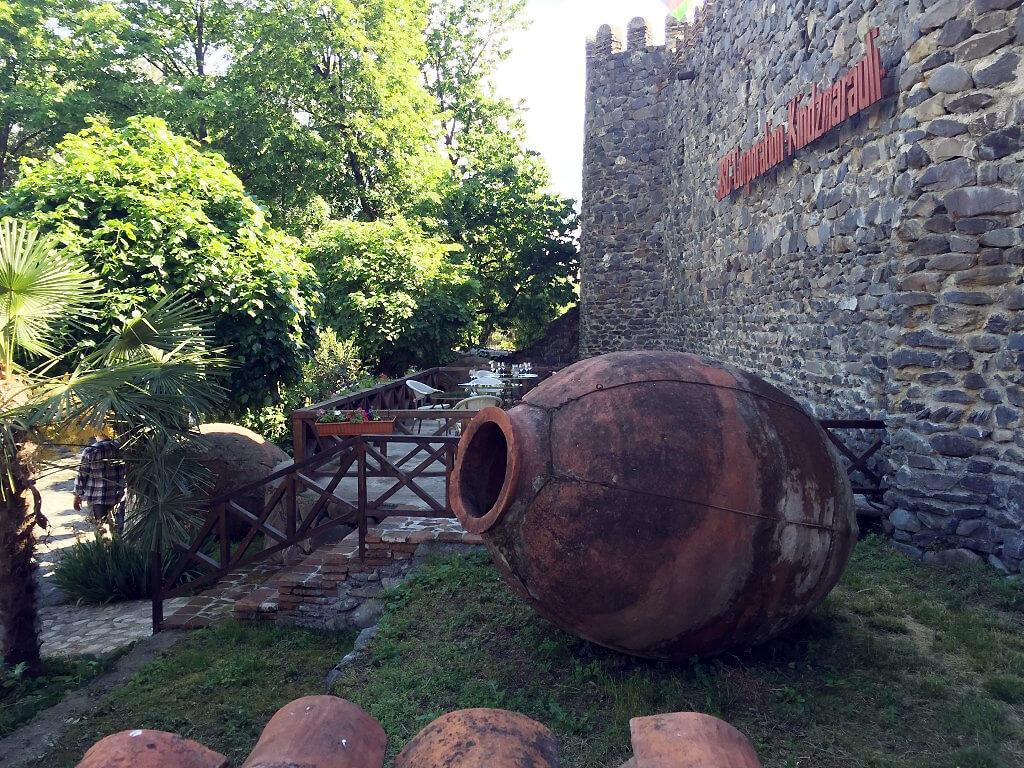 Винный завод в Кварели