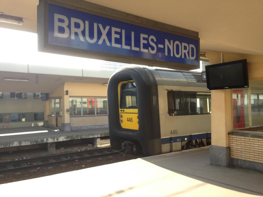 Cтанции Bruxelles-Nord