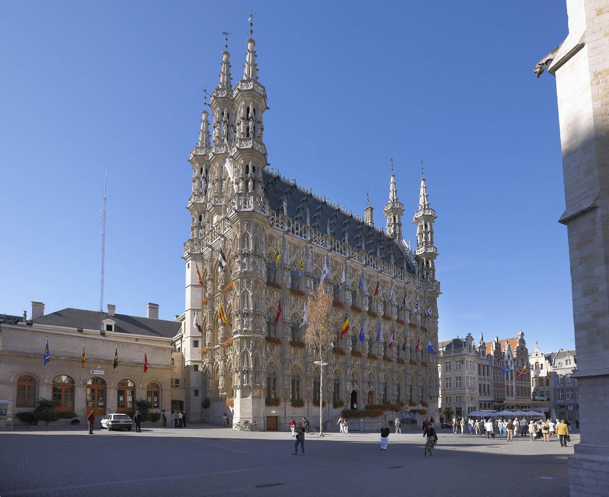 Ратуша, возведённая в 1448-1469 годах