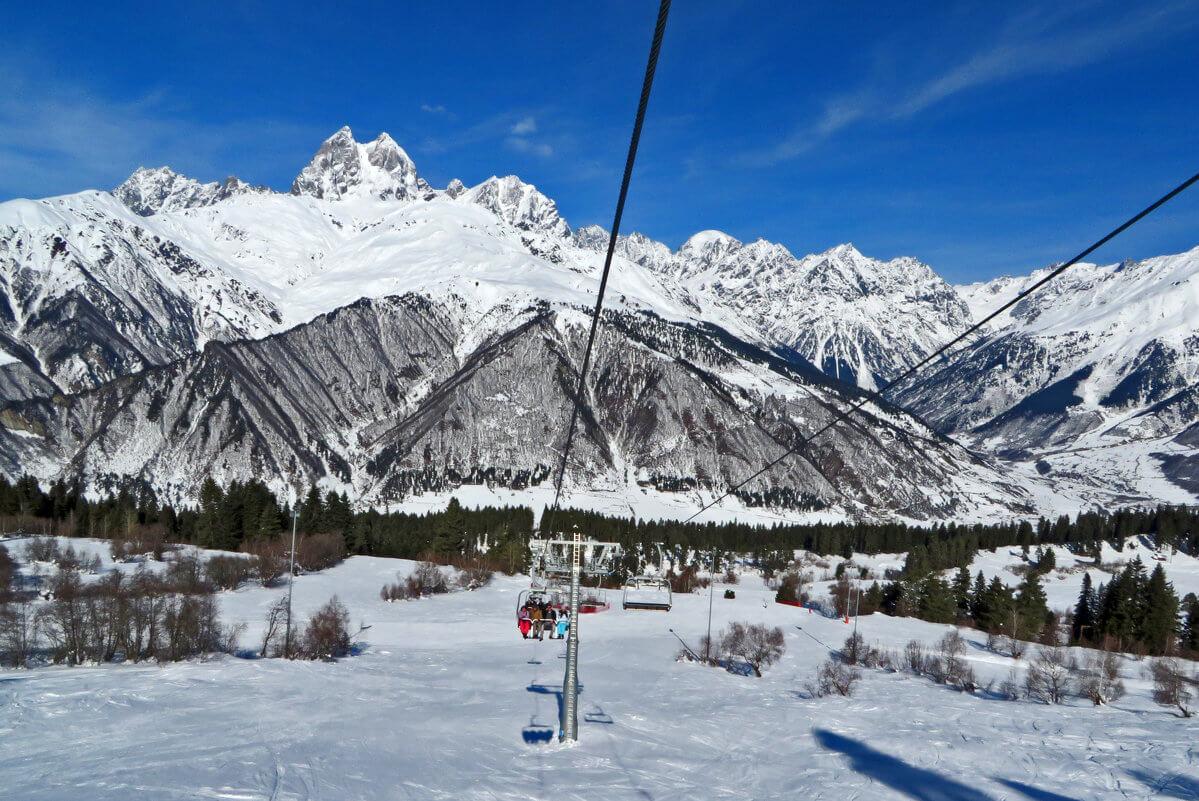 Хацвали горнолыжный курорт