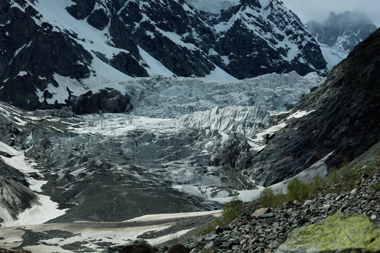 Ледник Чалаади в Местии