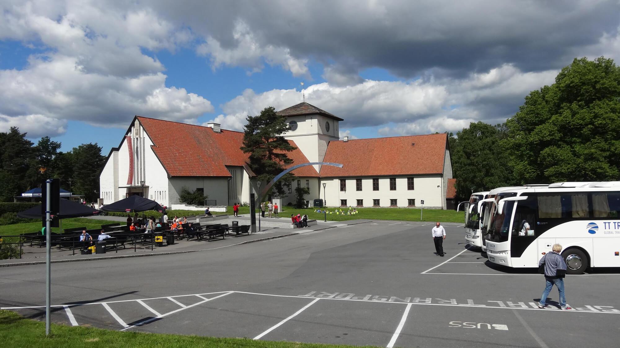 Музей кораблей викингов в Осло, Норвегия
