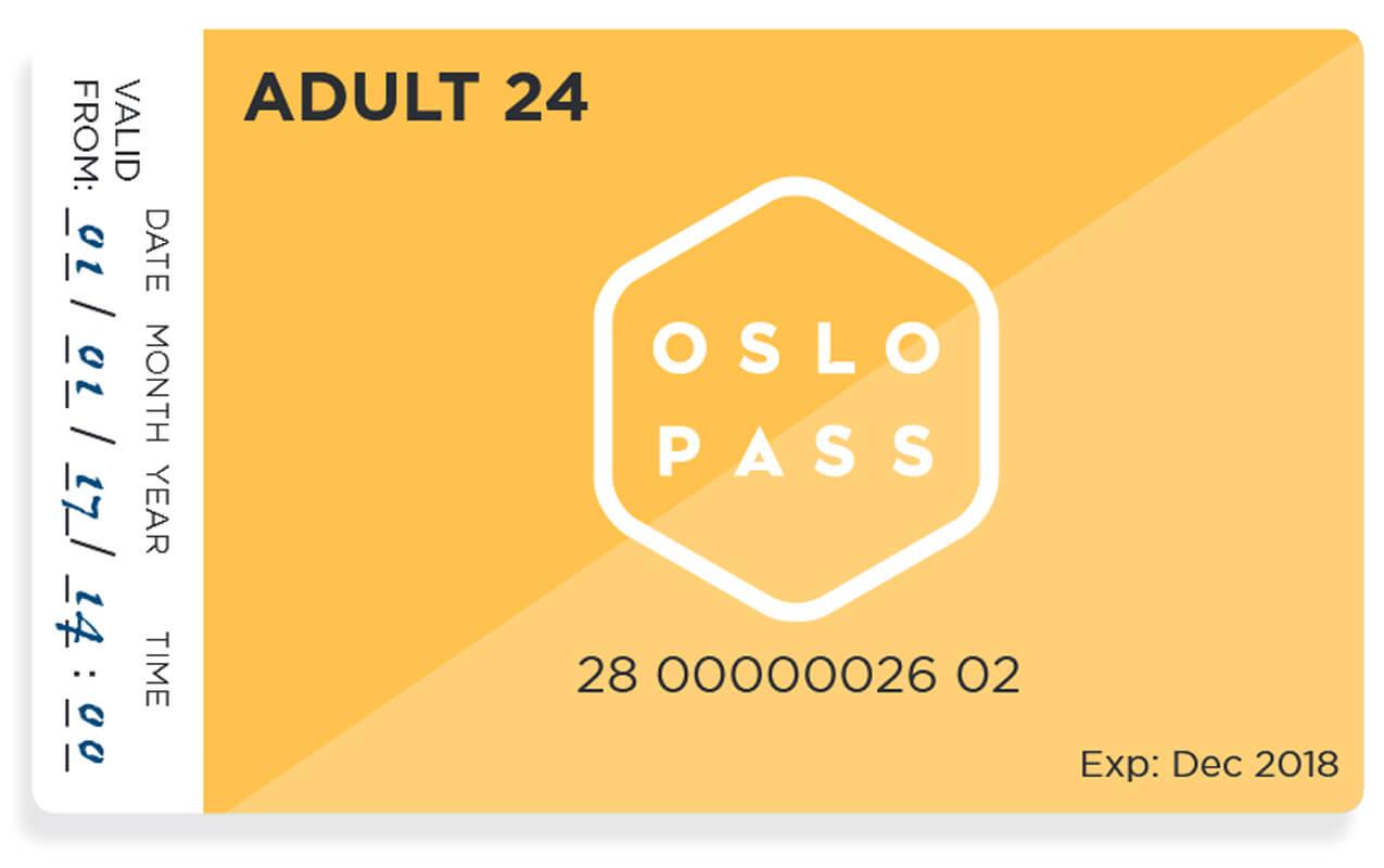 Карточка Oslo Pass