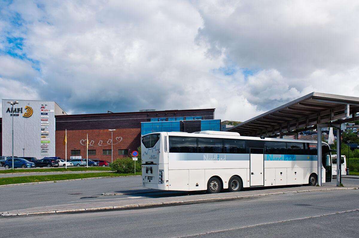 Фото: автовокзал Нарвика
