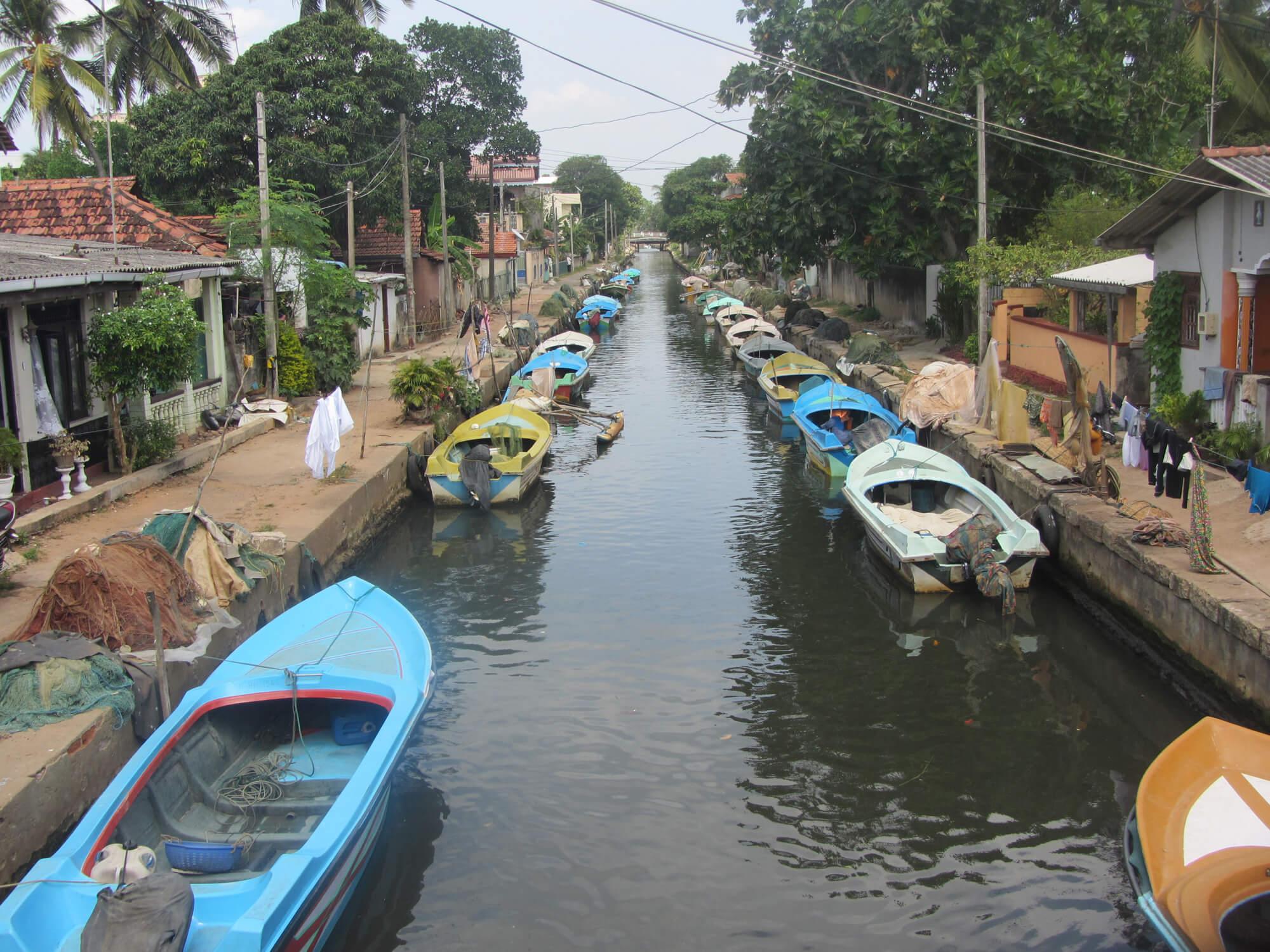 Канал в Негомбо
