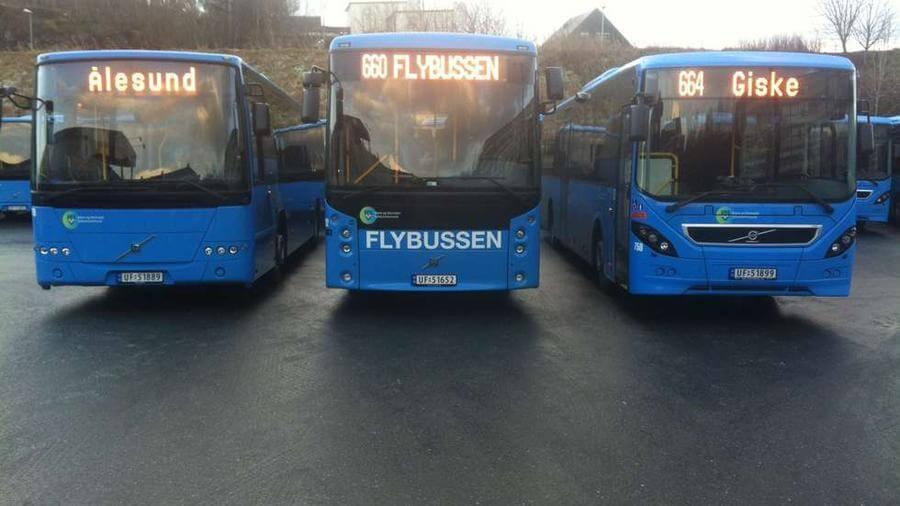 Автобус до Олесунна