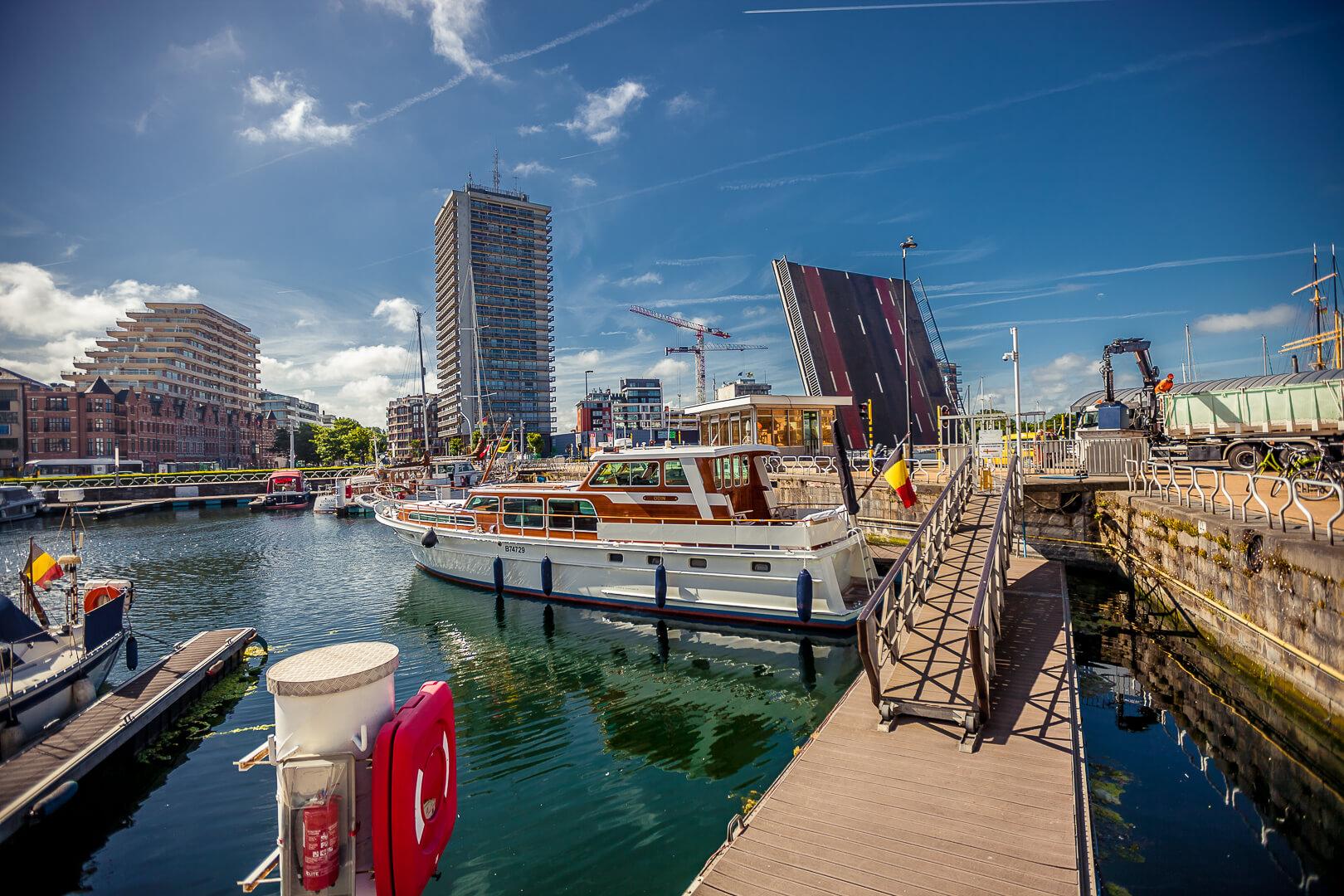 Порт. г. Остенде, Бельгия.