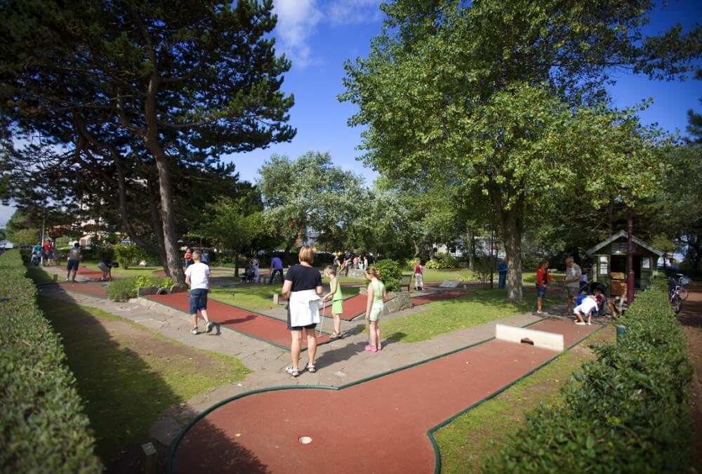 Городской парк Leopoldpark