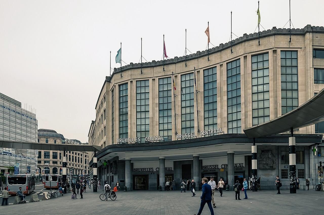 Центральный вокзал Брюсселя