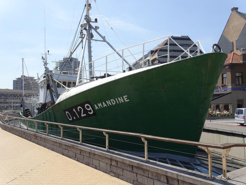 Музей-корабль Amandine